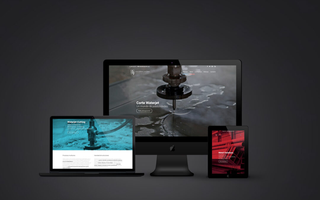 We launch a new website and a corporate image